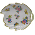 Herend Queen Victoria Leaf Dish 9.5 in VBO---00200-0-00