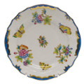 Herend Queen Victoria Blue Border Bread and Butter Plate 6 in VBO-Y301515-0-00