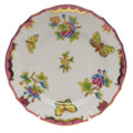 Herend Queen Victoria Pink Border Bread and Butter Plate 6 in VBO-Y401515-0-00