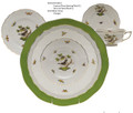 Herend Rothschild Bird 5-piece Place Setting
