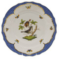Herend Rothschild Bird Borders Blue Dinner Plate No.4 10.5 in RO-EB-01524-0-04