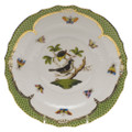 Herend Rothschild Bird Borders Green Salad Plate No.1 7.5 in RO-EV-01518-0-01