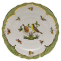 Herend Rothschild Bird Borders Green Salad Plate No.7 7.5 in RO-EV-01518-0-07