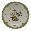 Herend Rothschild Bird Borders Green Service Plate No.5 11 in RO-EV-01527-0-05