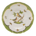 Herend Rothschild Bird Borders Green Dessert Plate No.8 8.25 in RO-EV-01520-0-08
