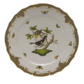 Herend Rothschild Bird Borders Brown Service Plate No.1 11 in ROETM201527-0-01
