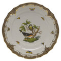 Herend Rothschild Bird Borders Brown Service Plate No.2 11 in ROETM201527-0-02