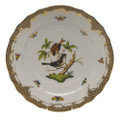 Herend Rothschild Bird Borders Brown Service Plate No.4 11 in ROETM201527-0-04
