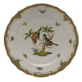 Herend Rothschild Bird Borders Brown Service Plate No.12 11 in ROETM201527-0-12
