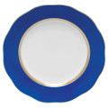 Herend Silk Ribbon Cobalt Blue Dessert Plate 8.25 in CB8---20520-0-00