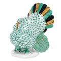 Herend Tom Turkey Fishnet Green 2.5 x 3.25 in VHV---05230-0-00