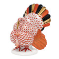 Herend Tom Turkey Fishnet Rust 2.5 x 3.25 in VH----05230-0-00