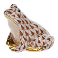 Herend Miniature Frog Fishnet Brown 1.5 in SVHBR215975-0-00