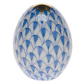 Herend Miniature Egg Fishnet Blue 1.5 in VHB---15250-0-00