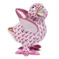 Herend Chicken Little Fishnet Raspberry 2 x 2.25 in SVHP--05131-0-00