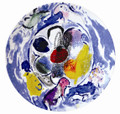 Bernardaud Marc Chagall The Hadassah Windows (1962) Coupe Salad Plate BENJAMIN TRIBE 8.5 in