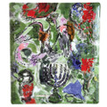 Bernardaud Marc Chagall The Hadassah Windows (1962) Matzah Plate ASHER TRIBE 10.6x9 in 117221421