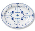 Royal Copenhagen Blue Fluted Half Lace Oval Platter Large 14.25 in 1017212
