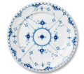 Royal Copenhagen Blue Fluted Full Lace Dinner Plate 10.75 in 1017240