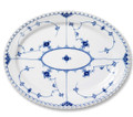 Royal Copenhagen Blue Fluted Full Lace Oval Platter Large 14.25 in 1017231