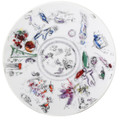 "Bernardaud Marc Chagall ""Ceiling of the Garnier  Opera"" Coupe Salad Plate 8.3 in No.3 (1963)"