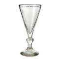 Jan Barboglio Frances Goblet with Pepita Etching 4.5x4.5x9 in Clear 3155CL