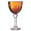 Jan Barboglio Vino Blanco Goblet 4.5x4.5x8 in Saffron 3153SA