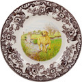 Spode Woodland Yellow Labrador Dinner Plate 10.5 in. 1403835