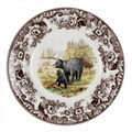 Spode Woodland Black Bear Dinner Plate 10.5 in. 1874819