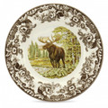 Spode Woodland Moose Dinner Plate 10.5 in. 1535480