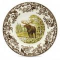 Spode Woodland Moose Dinner Plate 10.5 in. 1535480
