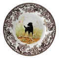 Spode Woodland Black Labrador Salad Plate 8 in. 1369568