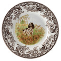 Spode Woodland English Springer Spaniel Salad Plate 8 in. 1369582