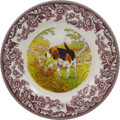 Spode Woodland Beagle Salad Plate 8 in. 1403866