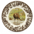 Spode Woodland Moose Salad Plate 8 in. 1535503