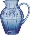 Juliska Colette Glassware Delft Blue Pitcher 2.75 qt D501.44