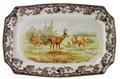 Spode Woodland Mule Deer Rectangular Platter 17.5 in. 1398018