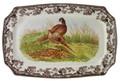 Spode Woodland Pheasant Rectangular Platter 17.5 in. 1369995