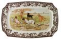 Spode Woodland Hunting Dogs Rectangular Platter 17.5 in. 1398001