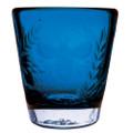 Jan Barboglio Wee-Bee Glass, Azul 3.75x3.75x4 in 3165AZ 000.72