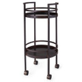 Jan Barboglio Circulo Bar Cart 20x20x40 in 2665