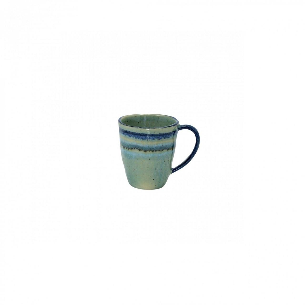 Casa Stone By Casafina casafina sausalito straight coffee mug green 14.5 oz sa3309-grn