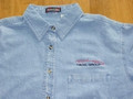 Lady's Blue Denim Shirt