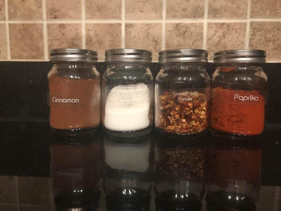 Spices labeled with TZe131