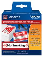Brother dk2251 printer labels