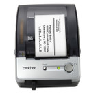 Brother QL500 label printer top / front view