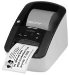 Brother QL700 label printer left view
