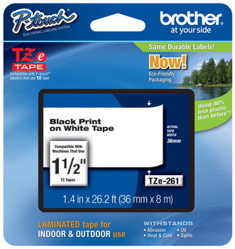 Brother TZ-261 p-touch tape