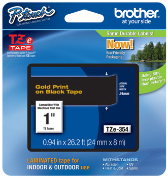 Brother TZ-354 p-touch tape