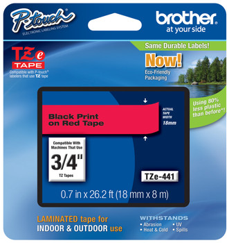 Brother TZ-441 p-touch tape